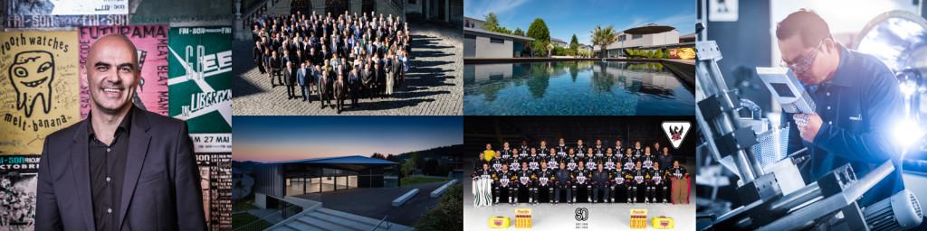 Services Entreprises: Photos corporate, event, studio, photos de groupe, industrie, architecture, photographe Fribourg
