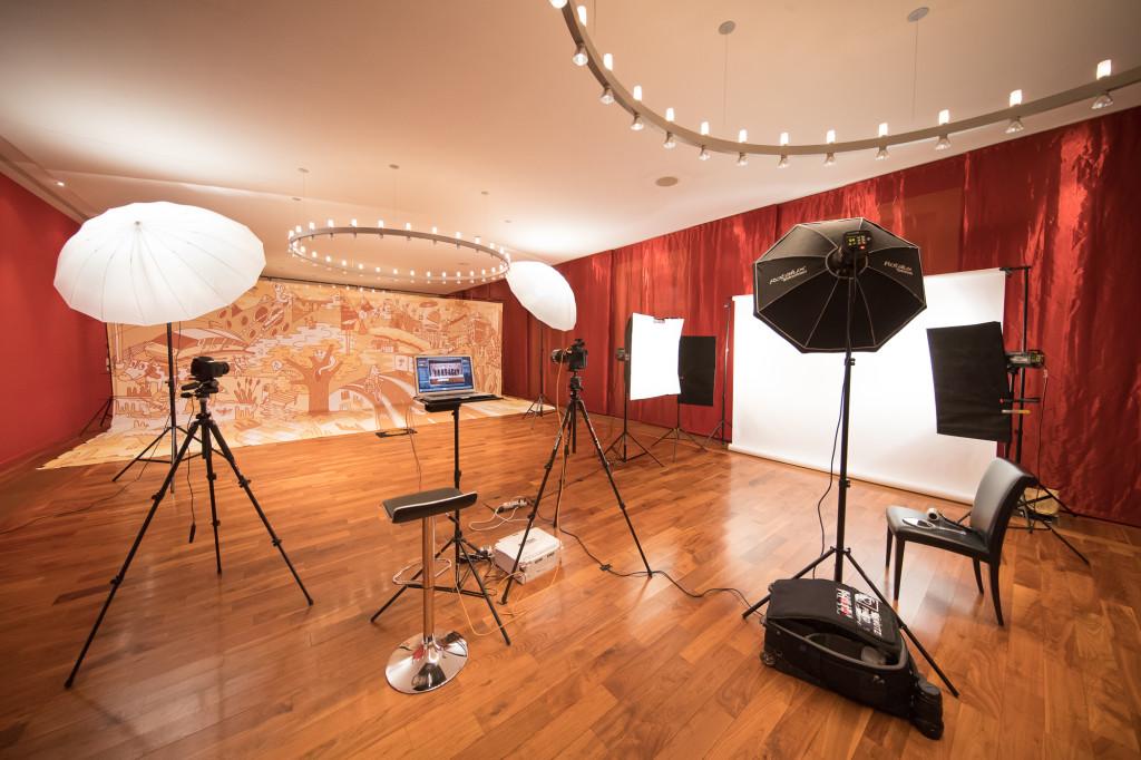 Behind the scenes: Bundesart Shoot, Bernerhof, 08.12.2017