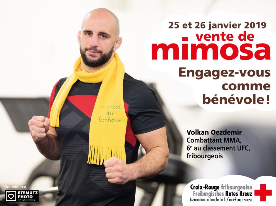 Portraits campagne MIMOSA 2019 par STEMUTZ : Volkan Oezdemir, UFC
