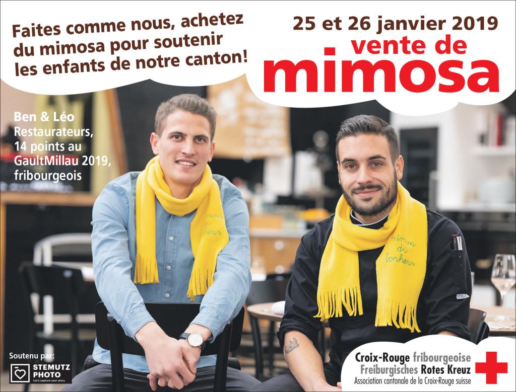 Portraits campagne MIMOSA 2019 par STEMUTZ : Ben & Léo, Fonderie 11